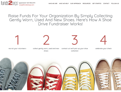The Leading Shoe Drive Fundraising Company Launches New Site